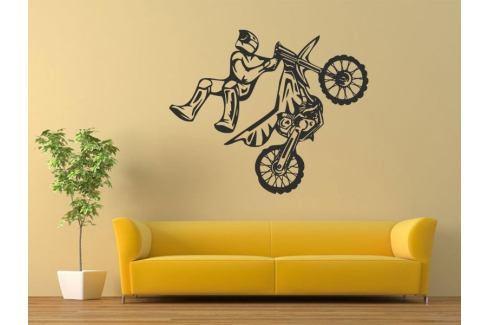 Samolepka na zeď Motorka 012 Motorka
