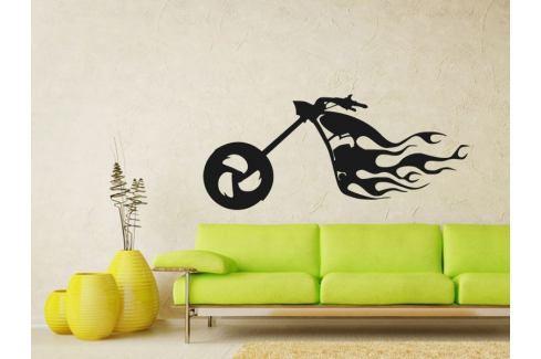 Samolepka na zeď Motorka 013 Motorka