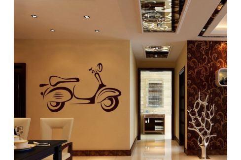 Samolepka na zeď Motorka 024 Motorka