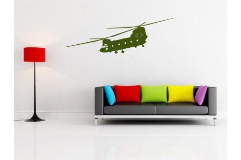 Samolepka na zeď Helikoptéra 001 Helikoptéra