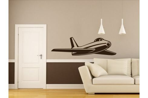 Samolepka na zeď Letadlo 011 Letadlo