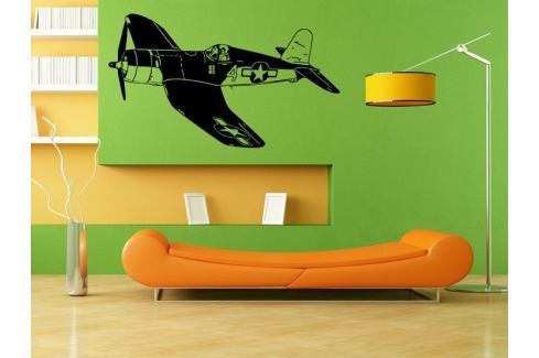 Samolepka na zeď Letadlo 014 Letadlo