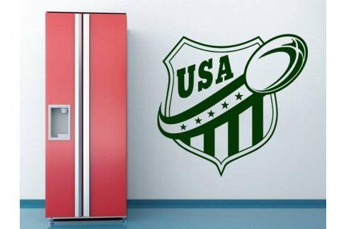 Samolepka na zeď Americký fotbal 001 Americký fotbal