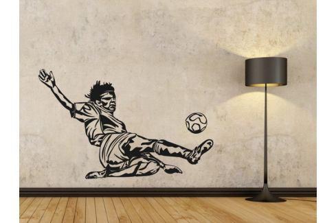 Samolepka na zeď Fotbalista 005 Fotbalista