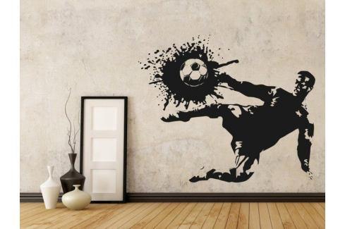 Samolepka na zeď Fotbalista 006 Fotbalista