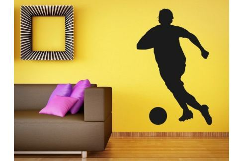 Samolepka na zeď Fotbalista 007 Fotbalista