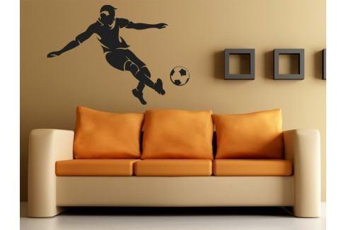 Samolepka na zeď Fotbalista 008 Fotbalista