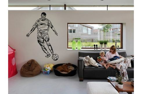 Samolepka na zeď Fotbalista 016 Fotbalista