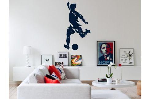 Samolepka na zeď Fotbalista 018 Fotbalista
