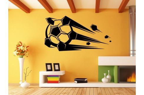 Samolepka na zeď Fotbalový míč 010 Fotbalový míč