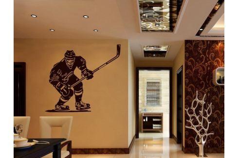 Samolepka na zeď Hokejista 001 Hokejista