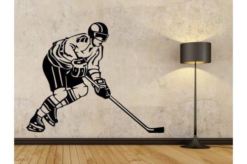 Samolepka na zeď Hokejista 002 Hokejista