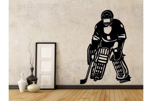 Samolepka na zeď Hokejista 003 Hokejista