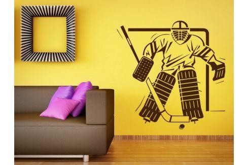 Samolepka na zeď Hokejista 004 Hokejista