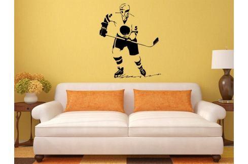 Samolepka na zeď Hokejista 005 Hokejista