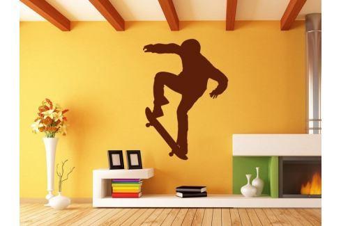 Samolepka na zeď Skateboardista 006 Skateboardista