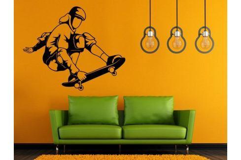 Samolepka na zeď Skateboardista 007 Skateboardista