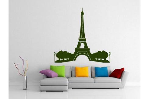 Samolepka na zeď Eifelova věž 008 Eifelova věž