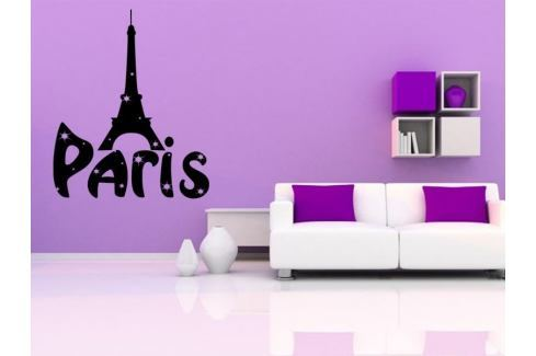 Samolepka na zeď Paříž 001 Paříž