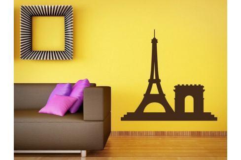 Samolepka na zeď Paříž 009 Paříž