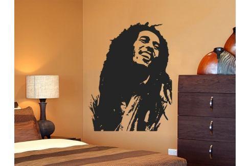 Samolepka na zeď Bob Marley 001 Osobnosti