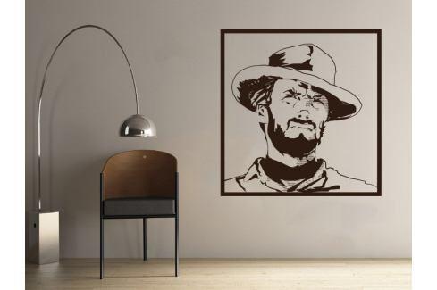 Samolepka na zeď Clint Eastwood 001 Osobnosti