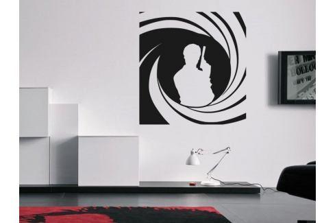Samolepka na zeď James Bond 002 Osobnosti