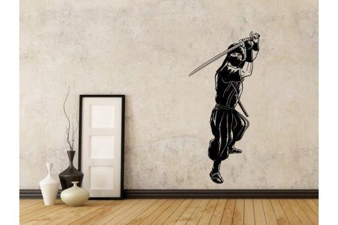 Samolepka na zeď Ninja 001 Bojová umění
