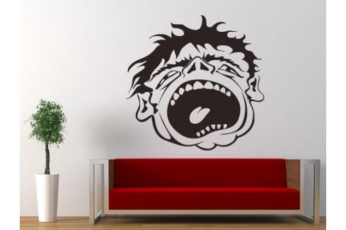 Samolepka na zeď Obličej 001 Tělo