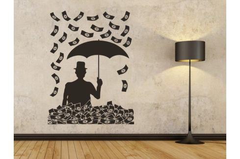 Samolepka na zeď Peníze 001 Muži