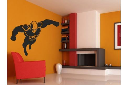 Samolepka na zeď Superhrdina 001 Superhrdina