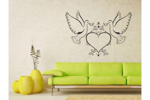 Samolepka na zeď Láska 002 Láska