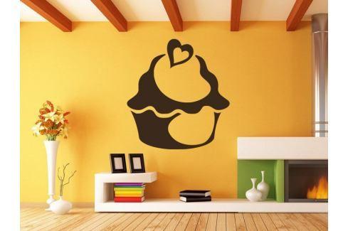 Samolepka na zeď Cupcake 0011 Dort