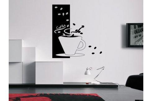 Samolepka na zeď Hrnek kávy 0041 Káva