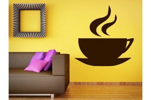 Samolepka na zeď Hrnek kávy 0047 Káva