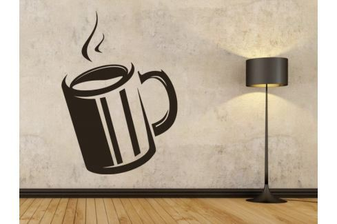 Samolepka na zeď Hrnek kávy 0049 Hrnky