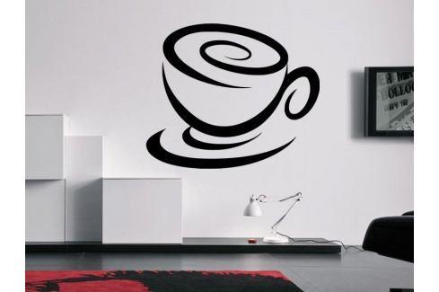 Samolepka na zeď Hrnek kávy 0052 Káva