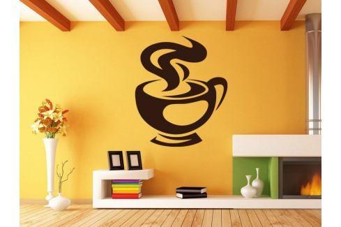 Samolepka na zeď Hrnek kávy 0053 Káva