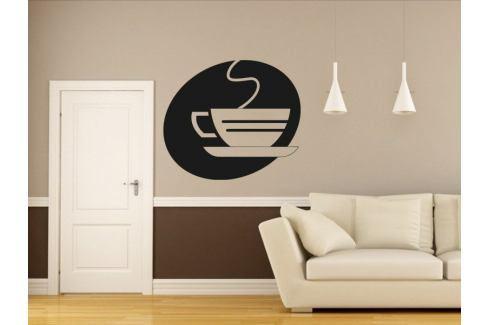 Samolepka na zeď Hrnek kávy 0054 Káva
