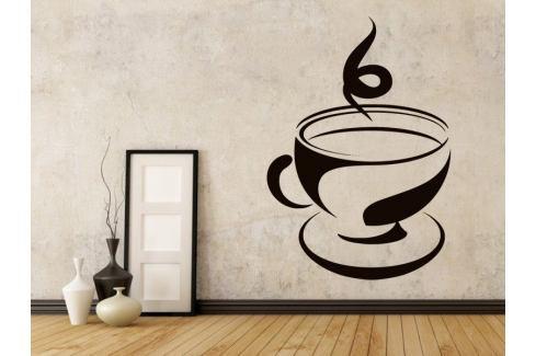 Samolepka na zeď Hrnek kávy 0056 Káva