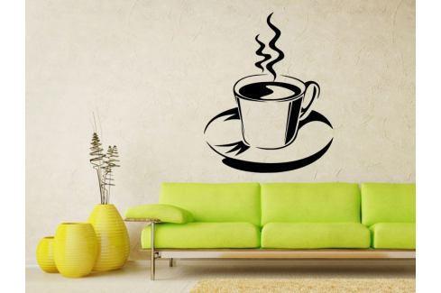 Samolepka na zeď Hrnek kávy 0057 Káva