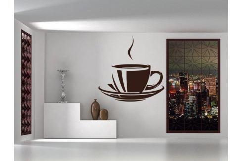 Samolepka na zeď Hrnek kávy 0058 Káva
