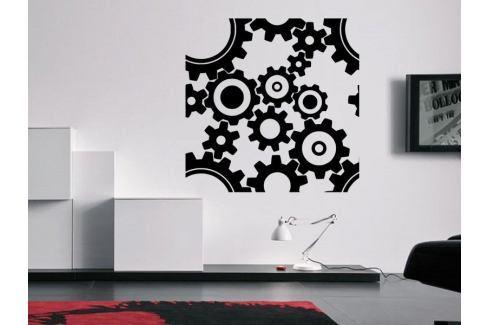 Samolepka na zeď Ozubená kola 0059 Ornamenty