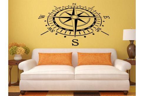 Samolepka na zeď Kompas 0060 Věci