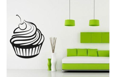 Samolepka na zeď Cupcake 0066 Dort