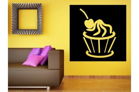 Samolepka na zeď Cupcake 0067 Dort
