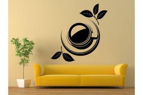 Samolepka na zeď Hrnek čaje 0073 Čaj
