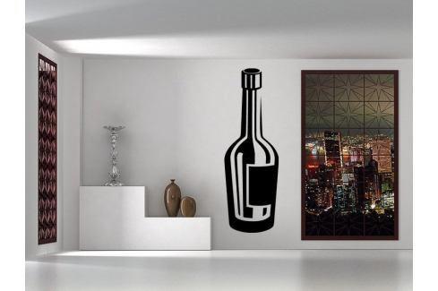 Samolepka na zeď Lahev vína 0079 Nápoje