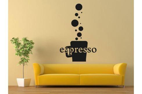 Samolepka na zeď Káva espresso 0110 Káva