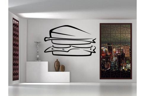 Samolepka na zeď Sandwich 0119 Jídlo